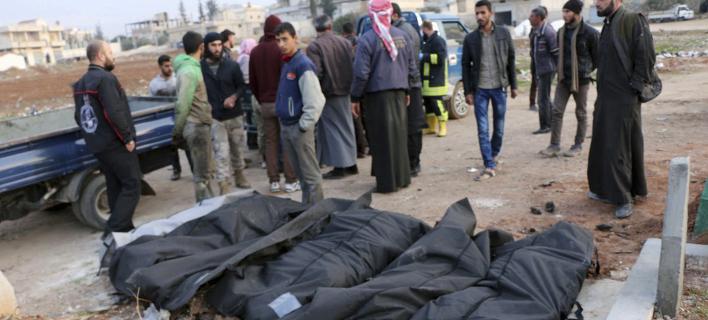 Συρία νεκροί/ Φωτογραφία AP images