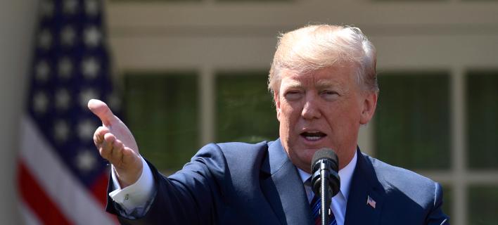 Ο Αμερικανός πρόεδρος Ντόναλντ Τραμπ (Φωτογραφία: AP)