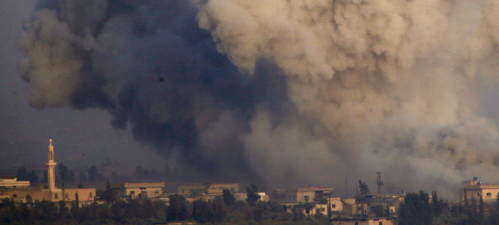 Βομβαρδισμοί Συρία/ Φωτογραφία AP images