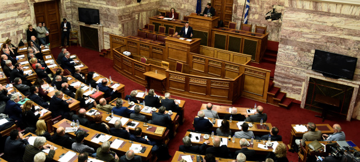 Κριτική από τους «53» στην κυβέρνηση (Φωτογραφία: EUROKINISSI/ ΤΑΤΙΑΝΑ ΜΠΟΛΑΡΗ)