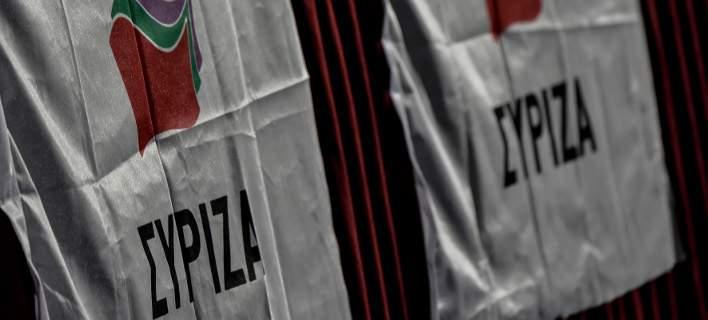 Σημαίες του ΣΥΡΙΖΑ/Φωτογραφία: Eurokinissi