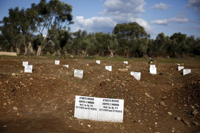 Reuters: Οι «ανώνυμοι» τάφοι της Λέσβου -Η άλλη πλευρά του δράματος | iefimerida.gr 0