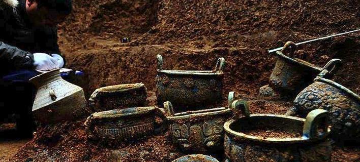 Ευρήματα από την ανασκαφή
