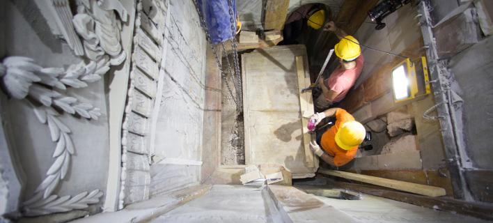 Η επικεφαλής ερευνήτρια του ΕΜΠ περιγράφει βήμα βήμα πώς έκαναν τη συγκλονιστική ανακάλυψη στον Τάφο του Ιησού