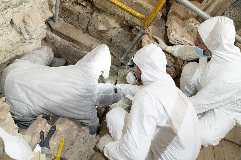 Aσύλητος τάφος επιφανούς γυναίκας στη Σίκινο/ Φωτογραφία eurokinissi