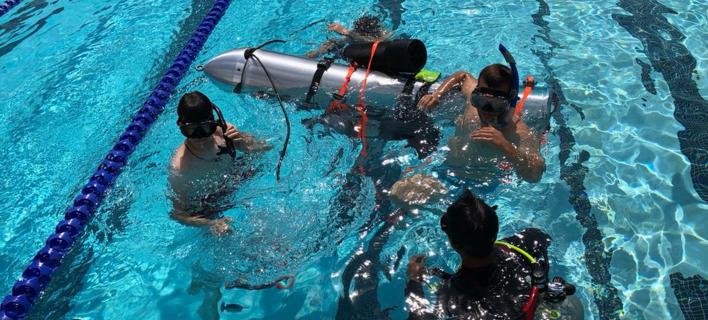 Το μίνι υποβρύχιο του Ελον Μασκ/ Φωτογραφία: Twitter