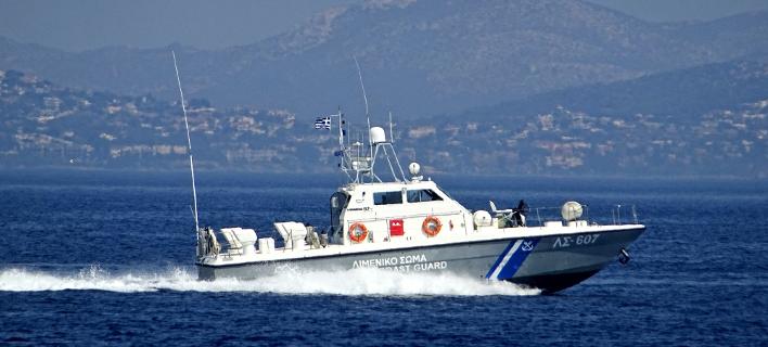 σκάφος του λιμενικού/Φωτογραφία: EUROKINISSI