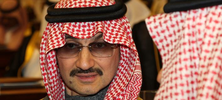 O Σαουδάραβας πρίγκιπας Αλ Ουαλίντ μπιν Ταλάλ (Φωτογραφία αρχείου: ΑΡ)