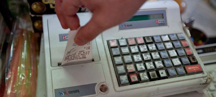 Η διασύνδεση των ταμειακών με το Τaxis θα γίνει σταδιακά / Φωτογραφία: Eurokinissi/Κώστας Μάντζιαρης