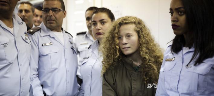 Η Αχεντ Ταμίμι (Φωτογραφία: AP/ Mahmoud Illean)