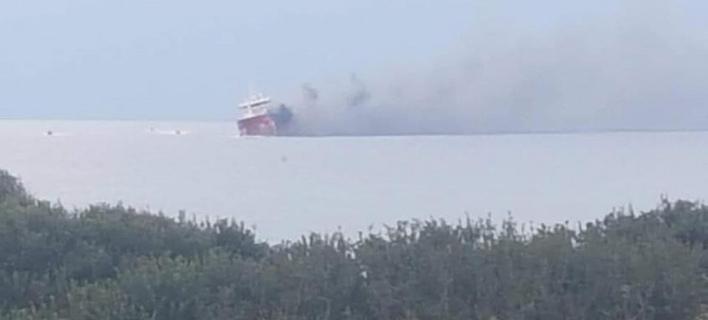 Εκρηξη σε τάνκερ στην Κύπρο