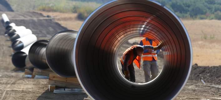 Bloomberg: Μοχλός για την ανάπτυξη στην Ελλάδα ο αγωγός ΤΑΡ
