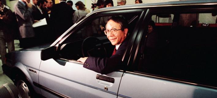O πρώην πρόεδρος της Toyota, Τατσούρο Τογιότα (Φωτογραφία: P Photo/Paul Sakuma)