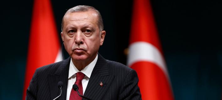 Ο πρόεδρος της Τουρκίας, Ταγίπ Ερντογάν (Φωτογραφία: AP/Burhan Ozbilici)