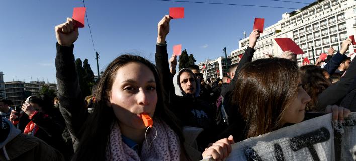 Διαμαρτυρία: φωτογραφία: intimenews, ΒΑΡΑΚΛΑΣ ΜΙΧΑΛΗΣ