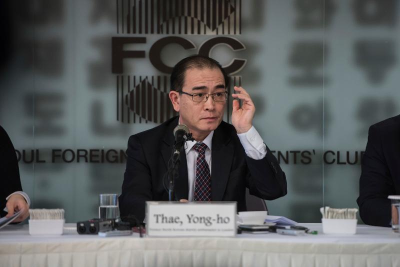 O Bορειοκορεάτης πρώην διπλωμάτης Τάε Γιονγκ Χο (Φωτογραφία: ΑΡ)