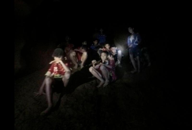 Τα εγκλωβισμένα παιδιά. Φωτογραφία: AP