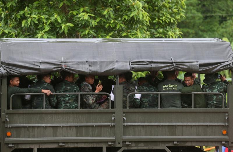 Υπεράνθρωπες ήταν οι προσπάθειες των ομάδων διάσωσης. Φωτογραφία: ΑP