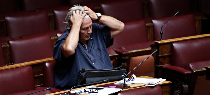 Ο πρώην βουλευτής Θανάσης Παπαχριστόπουλος- φωτογραφία sooc.gr