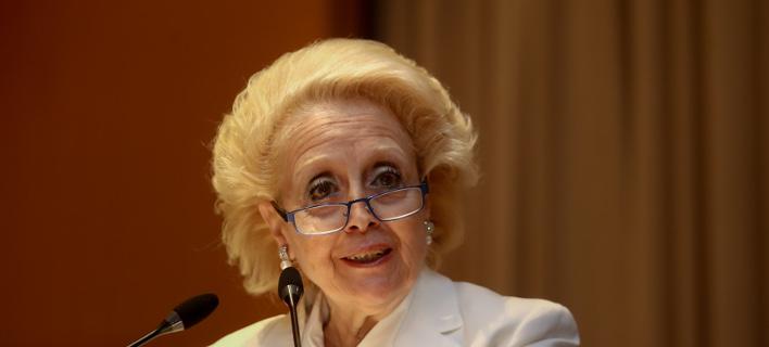 Η πρώην πρόεδρος του Αρείου Πάγου και υπηρεσιακή Πρωθυπουργός Βασιλική Θάνου- φωτογραφία intimenews