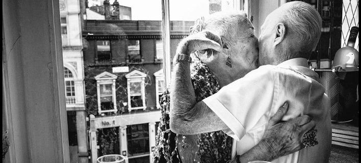 «Το Φιλί». Φωτογραφία: Παναγής Χρυσοβέργης