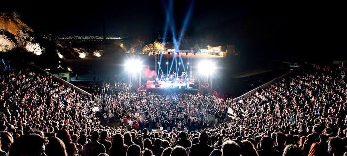 Απο τη συναυλία Μικρούτσικου-Πασχαλίδη θέατρο Πέτρας, Thanos Lainas