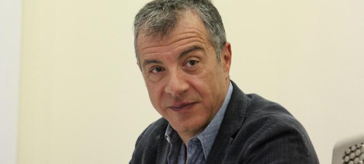 Σταύρος Θεοδωράκης (Φωτογραφία: Eurokinissi-ΔΗΜΗΤΡΟΠΟΥΛΟΣ ΣΩΤΗΡΗΣ)