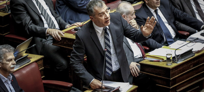 Ο Σταύρος Θεοδωράκης (Φωτογραφία: EUROKINISSI/ΓΙΩΡΓΟΣ ΚΟΝΤΑΡΙΝΗΣ)