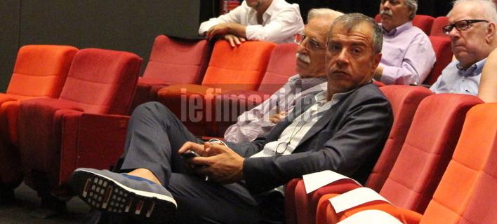 Θεοδωράκης και Θεοχαρόπουλος μαζί στην εκδήλωση του Ανδρουλάκη για την Τουρκία  [εικόνες]