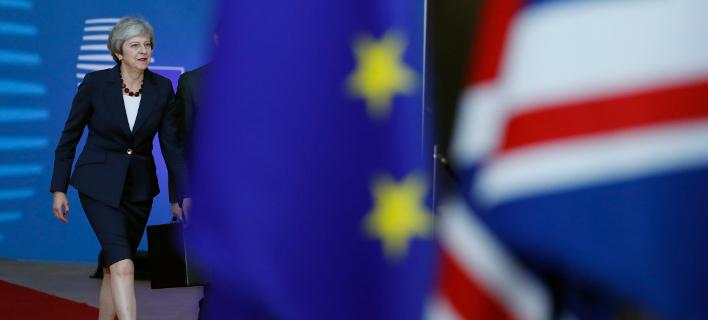 Η πρωθυπουργός της Βρετανίας, Τερέζα Μέι (Φωτογραφία: ΑΡ/Alastair Grant)
