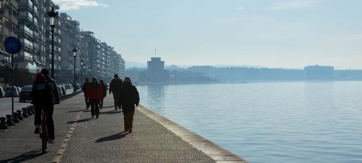 Παραλία Θεσσαλονίκης/Φωτογραφία: Eurokinissi