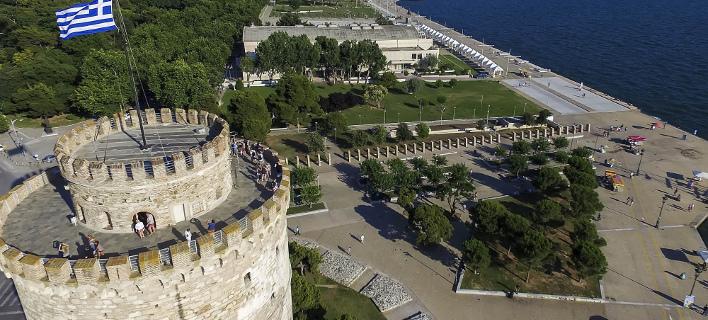 Συλλαλητήριο σήμερα στη Θεσσαλονίκη (Φωτογραφία: EUROKINISSI)