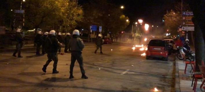 Επεισόδια στη Θεσσαλονίκη (Φωτογραφία: thestival)