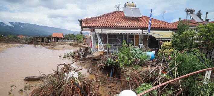 Σβάρνα Θεσσαλονίκη πλημμύρες/ Φωτογραφία intime