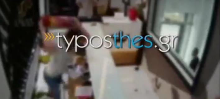 Αλλοδαποί διαπληκτίστηκαν σε ξενοδοχείο στη Θεσσαλονίκη -Τα έκαναν «γυαλιά καρφιά» [βίντεο]