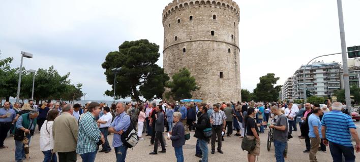 Συγκέντρωση διαμαρτυρίας στη Θεσσαλονίκη/Φωτογραφία αρχείου: Eurokinissi
