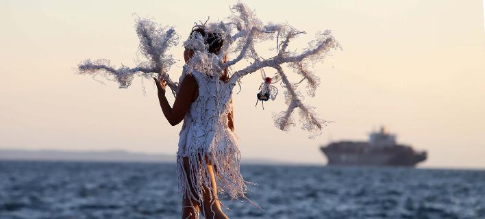 Η νέα παραλία Θεσσαλονίκης έγινε πασαρέλα (Φωτογραφία: MOTION TEAM/ΤΡΥΨΑΝΗ ΦΑΝΗ)
