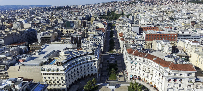 Η Θεσσαλονίκη από ψηλά (Φωτογραφία: MotionTeam/ΒΕΡΒΕΡΙΔΗΣ ΒΑΣΙΛΗΣ)
