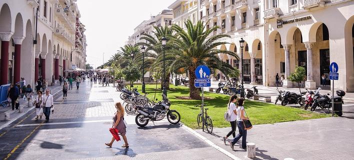 Το κέντρο της Θεσσαλονίκης/Φωτογραφία: Eurokinissi