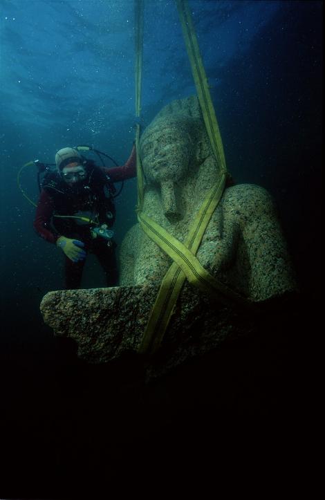 Η εντυπωσιακή «βυθισμένη πόλη» που ένωνε την αρχαία Ελλάδα με την Αίγυπτο