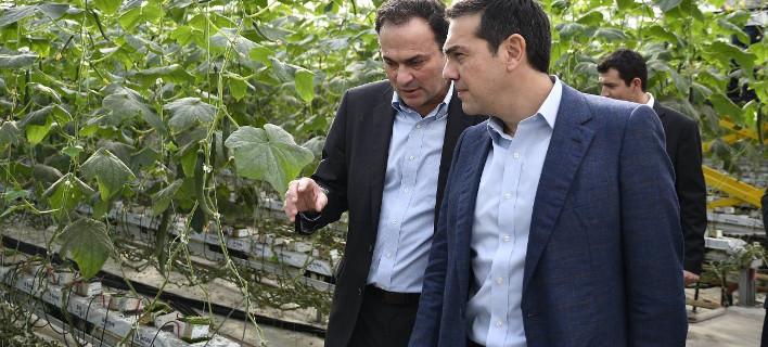 «Η κυβέρνηση στηρίζει τις επιχειρήσεις που έχουν εξωστρέφεια», φωτογραφίες: twitter.com/Primeminister