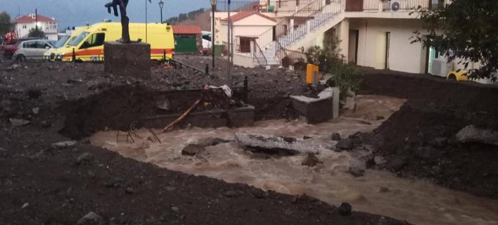 Ανυπολόγιστες ζημιές από την καταιγίδα στη Σαμοθράκη -Πλημμύρισαν το Κέντρο Υγείας και το Δημαρχείο [εικόνες & βίντεο]