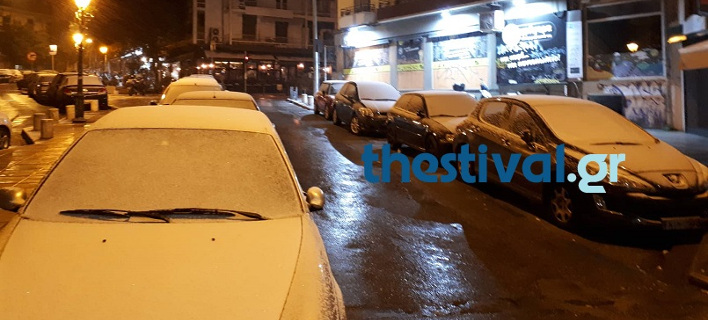 Χιόνι στη Θεσσαλονίκη, Φωτογραφίες: thestival.gr