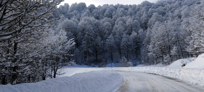 Νέες σφοδρές χιονοπτώσεις από τη Δευτέρα/ Φωτογραφία: EUROKINISSI- KOSTAS VILLA