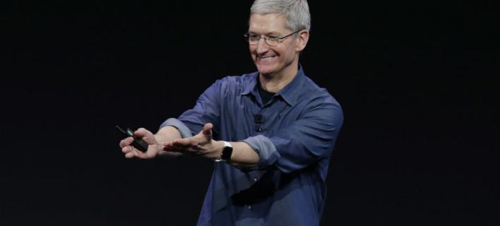 Ο Τιμ Κουκ της Apple