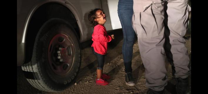 «Δεν χωρίστηκε από τη μητέρα του», φωτογραφία: Getty Images Τζον Μουρ