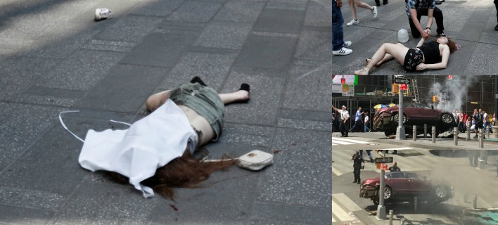 Διπλό χτύπημα στη Ν.Υόρκη: ΙΧ επεσαν σε πεζούς -2 νεκροί πολλοί τραυματίες