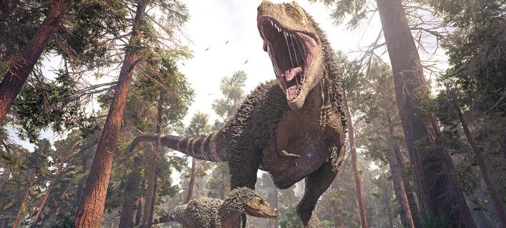 Τυραννόσαυρος (Φωτογραφία: Shutterstock)