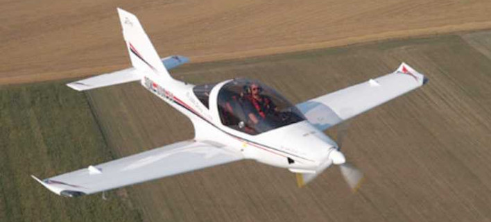 Κατέπεσε μονοκινητήριο αεροσκάφος της Αερολέσχης Λάρισας [εικόνες]