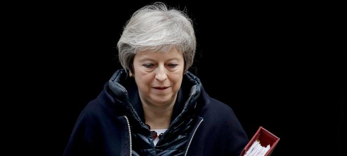 Η πρωθυπουργός της Βρετανίας, Τερέζα Μέι (Φωτογραφία: ΑΡMatt Dunham)